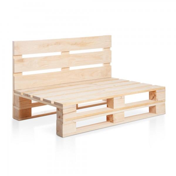 Sofa palet de madera