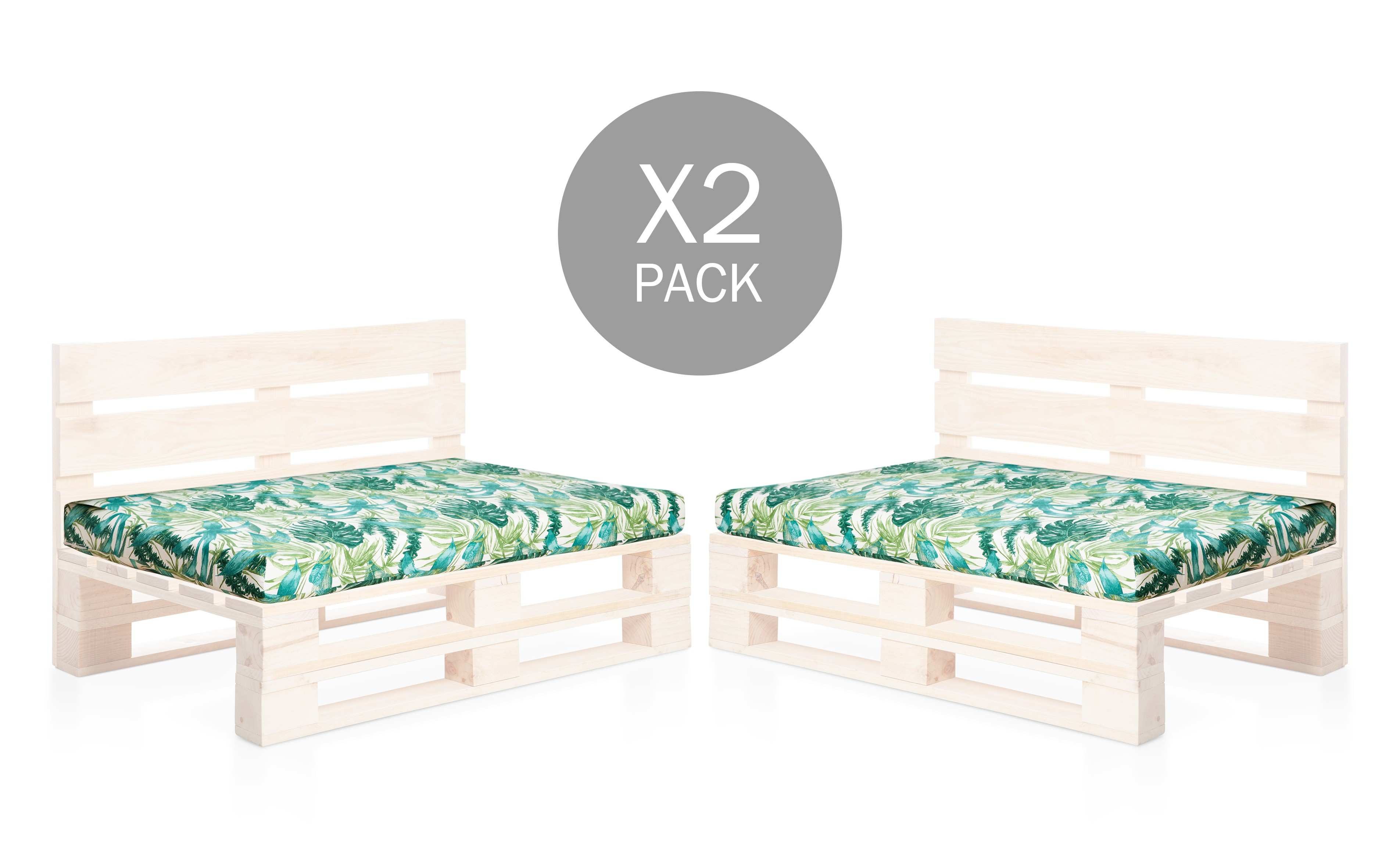 PACK 2 ASIENTOS ESTAMPADOS CHILL OUT